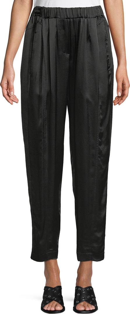 Urban Zen Satin Crepe Crop Pull-On Pants