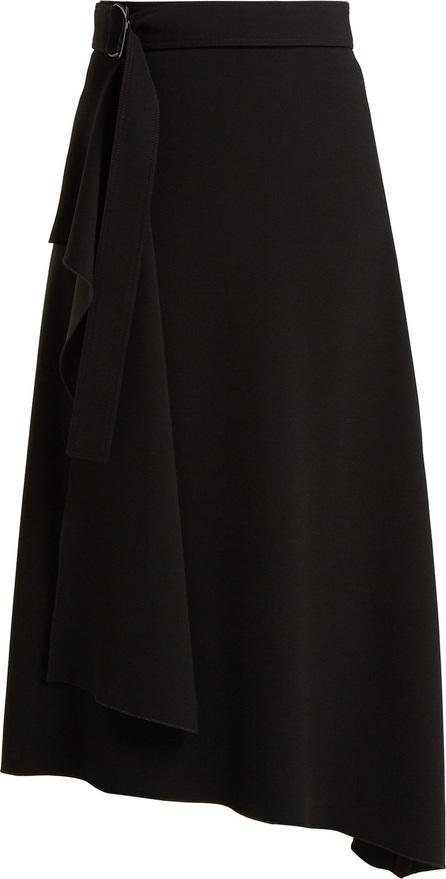 Joseph Sybil asymmetric twill skirt