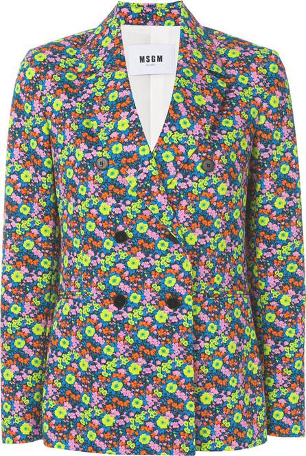 MSGM Floral design jacket