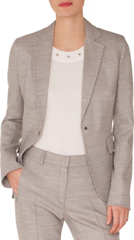 Akris Punto - Press-Button Flap-Pockets Stretch-Wool Blazer