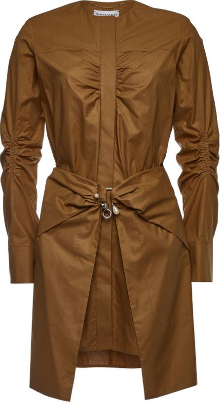 Carven Cotton Shirt Dress
