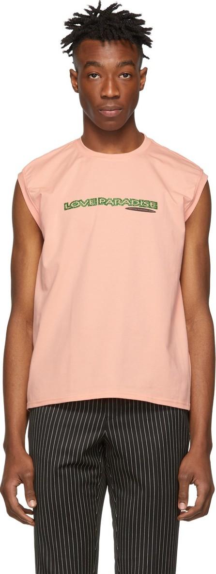 Anton Belinskiy Pink 'Love Paradise' T-Shirt