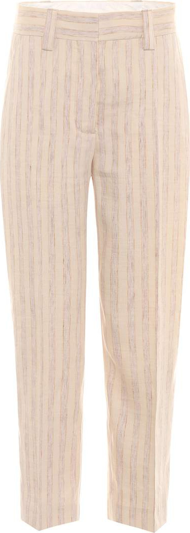 Acne Studios Trea striped linen trousers