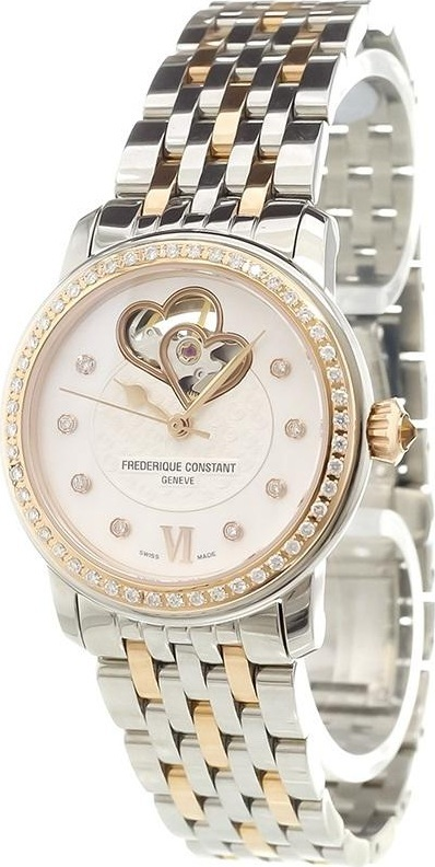 Frederique Constant 'Ladies Automatic World Heart Federation' analog watch