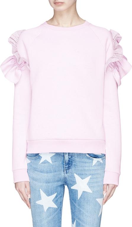 Stella McCartney Ruffle shoulder sweatshirt