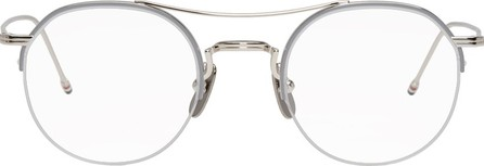Thom Browne Silver Round TB-903 Glasses