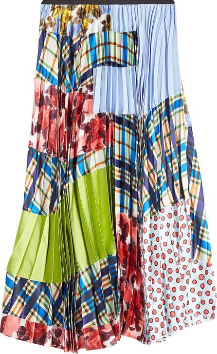 Marni Printed Skirt with Pleats