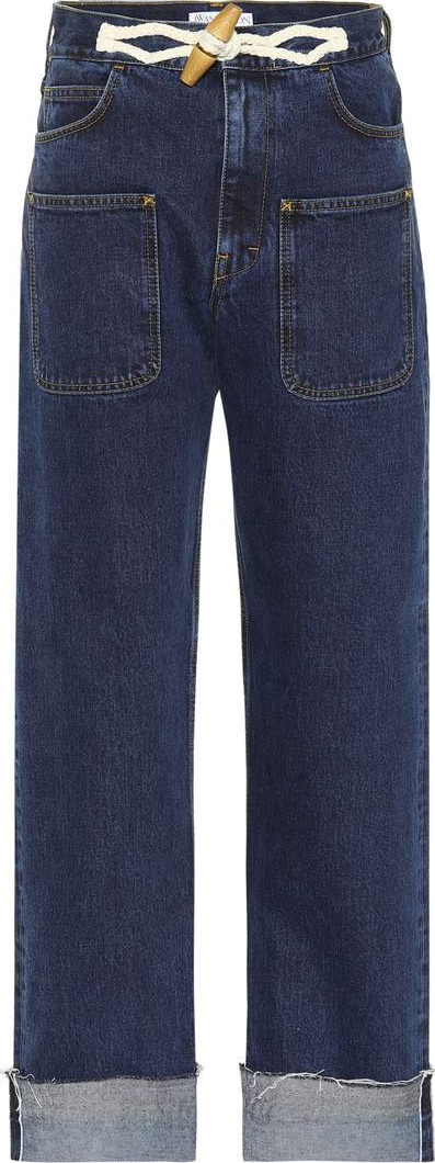 J.W.Anderson Toggle wide-leg jeans