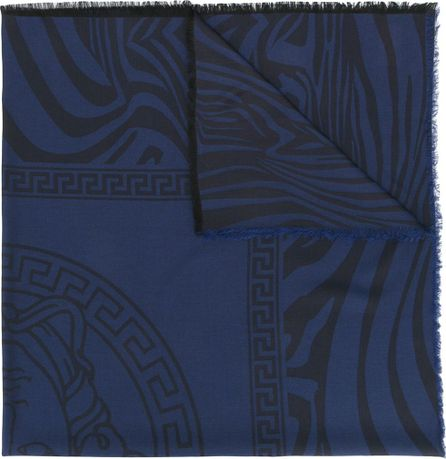 Versace Zebra Medusa shawl