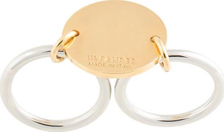 Jil Sander Double locket ring
