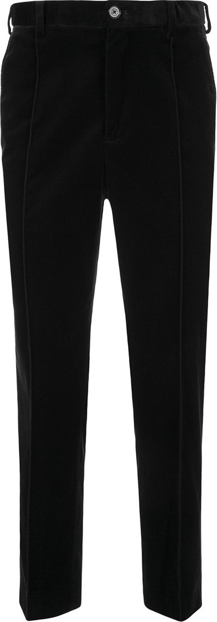 Loveless Textured cropped tailored trousers