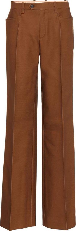 Chloe Wool and silk-blend pants