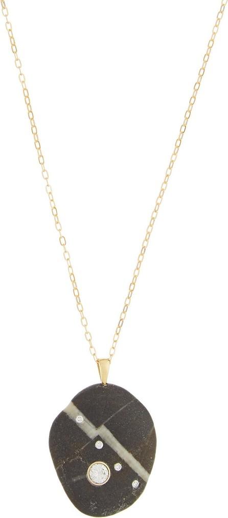 Cvc Stones Lightning Bolt diamond & 18kt gold necklace