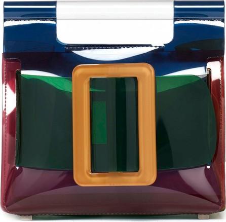 BOYY Romeo Colorblocked Transparent Bag