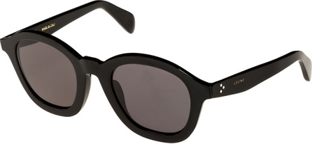 Celine Round Acetate International-Fit Sunglasses