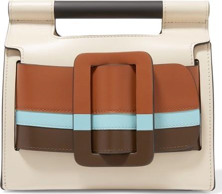 BOYY Romeo color-block leather clutch