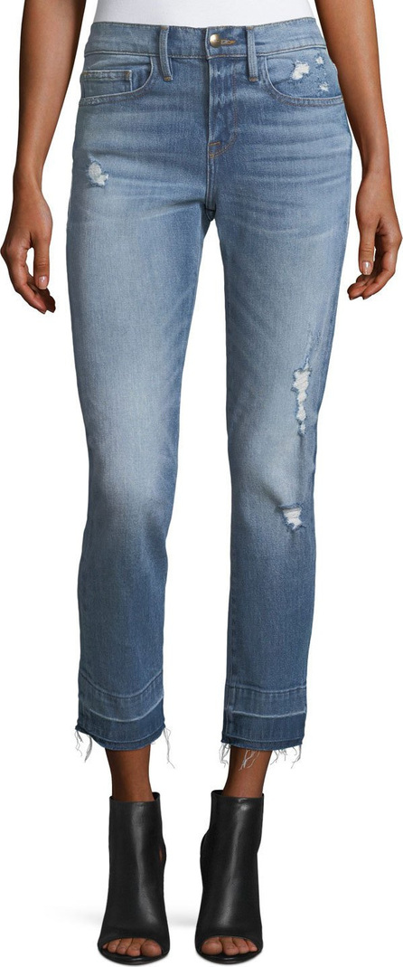 FRAME DENIM Le Boy Straight-Leg Wide Release Jeans