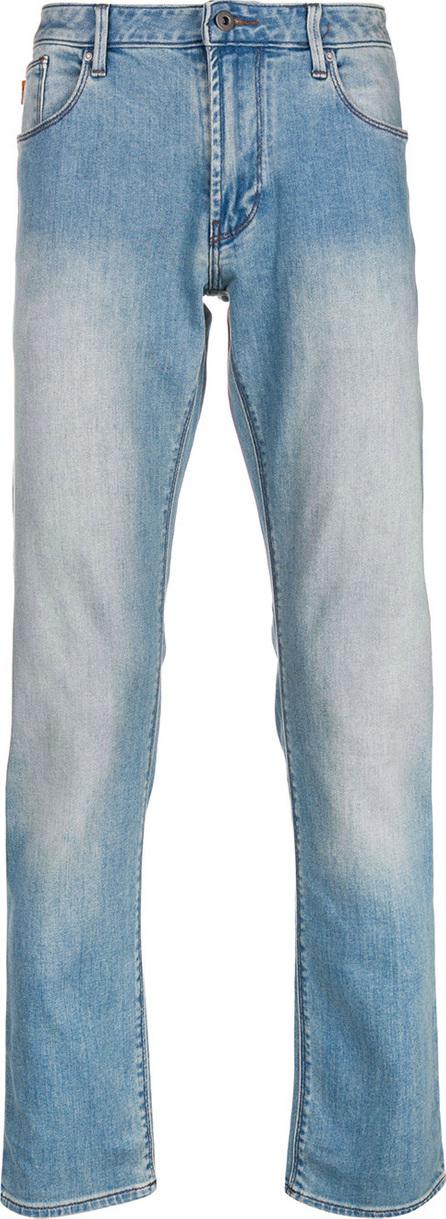 Emporio Armani Faded straight leg jeans