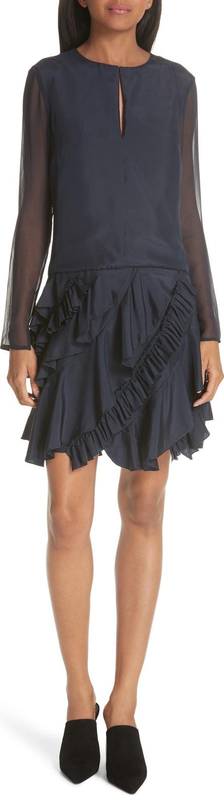 GREY Jason Wu Ruffle Silk Dress