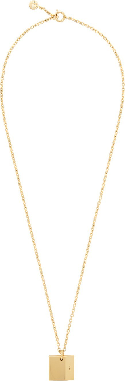 A.P.C. Gold Nolan Necklace