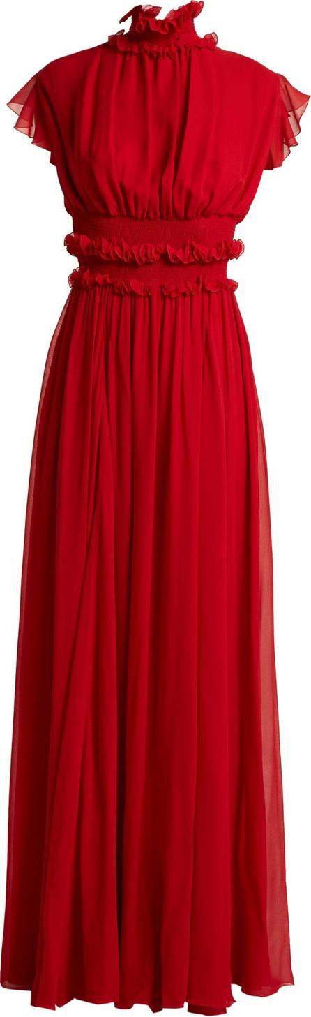 Giambattista Valli Ruffle silk-chiffon gown