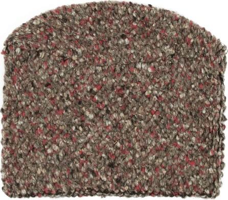 Eckhaus Latta Brown Knit Snood