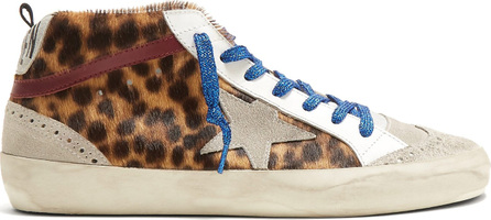 Golden Goose Deluxe Brand Midstar suede and leather trainers