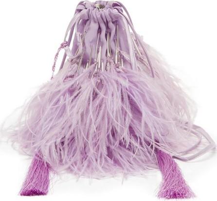 Attico Ostrich Mini Pouch