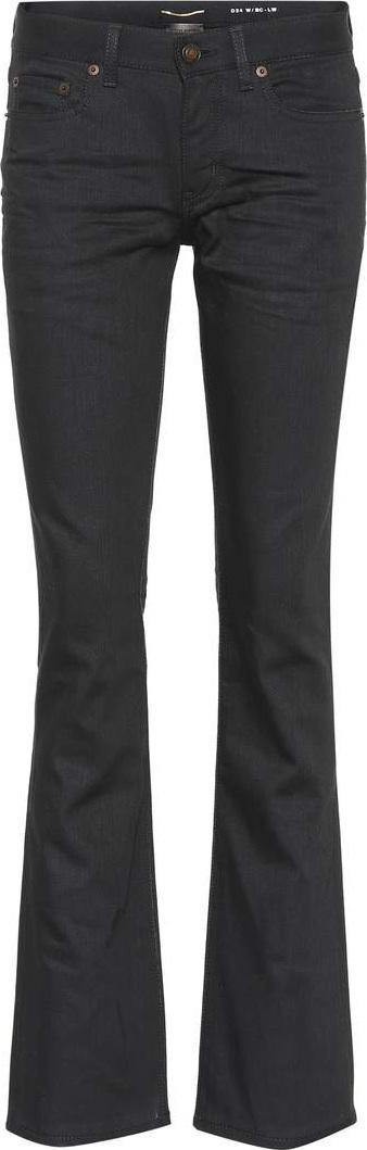 Saint Laurent Stretch-cotton bootcut pants