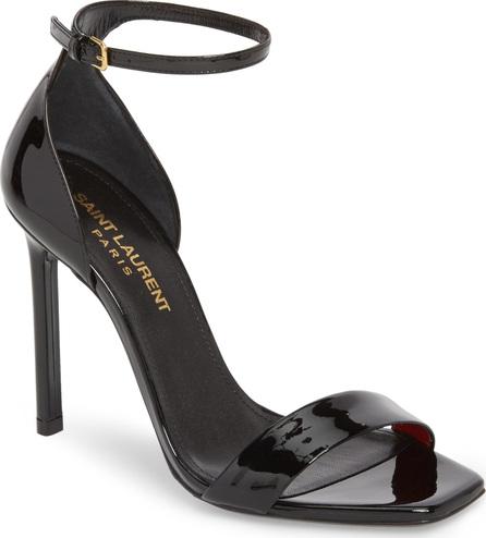 Saint Laurent Amber Ankle Strap Sandal