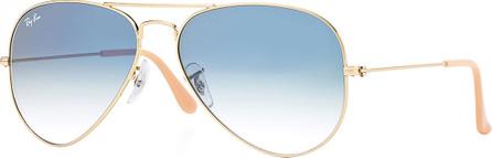 Ray Ban Original Mirror Aviator Sunglasses