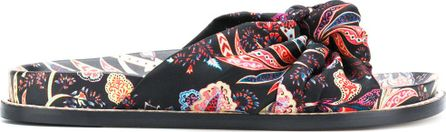 Etro Embroidered open-toe sandals