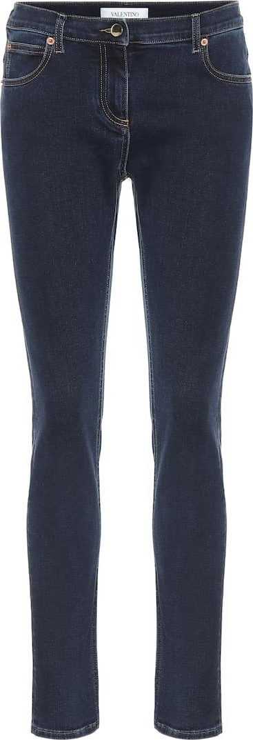 Valentino Stretch-denim slim jeans