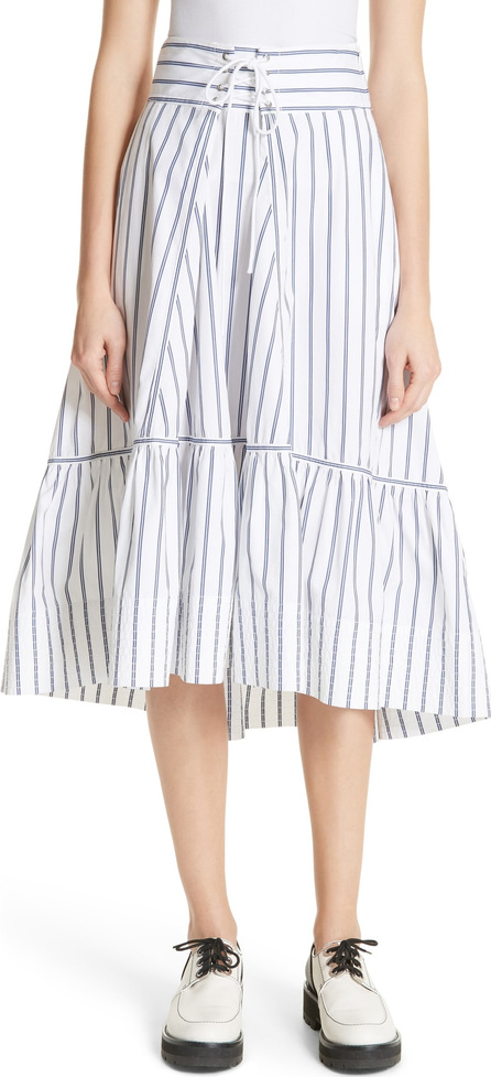 3.1 Phillip Lim Stripe Corset Waist Skirt