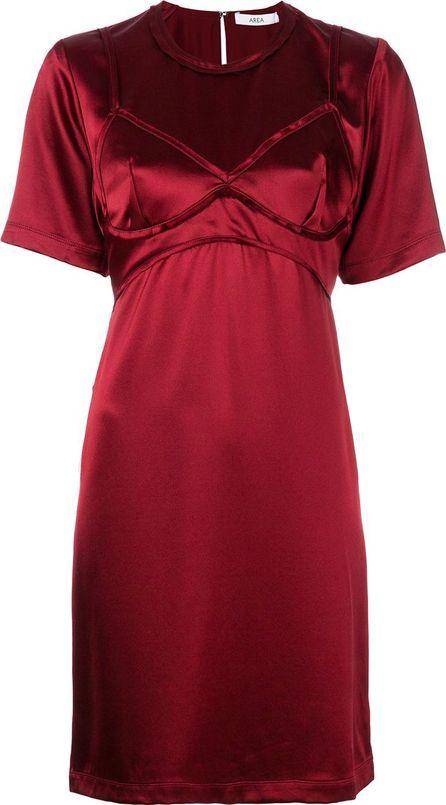 Area bra detail mini-dress