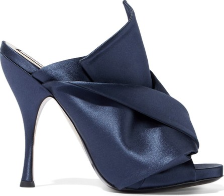 N°21 Knotted satin mules