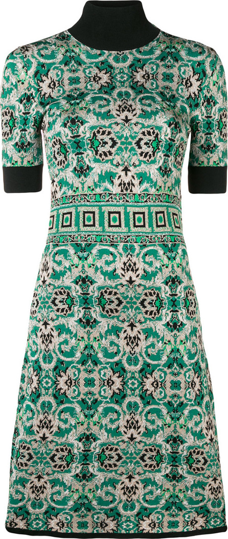 Versace Collection Knitted midi dress
