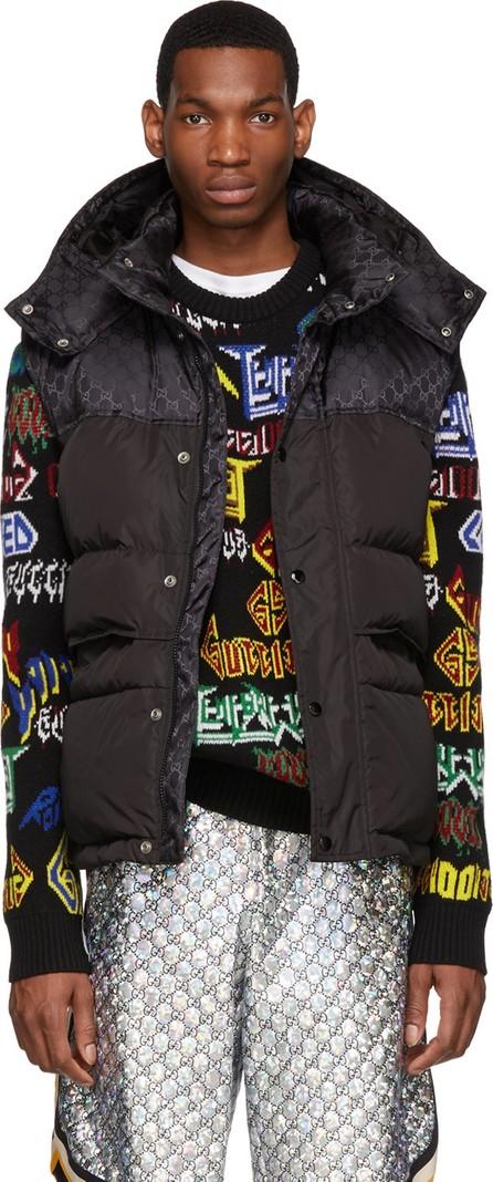 Gucci Black Down Vest