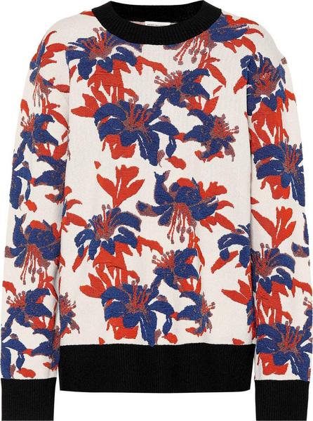 Dries Van Noten Floral jacquard sweater