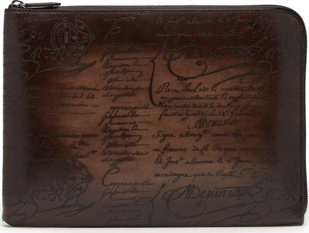 Berluti Nino Scritto leather document holder