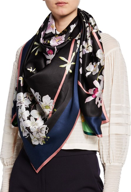 St. Piece Janet Double Sided Silk Scarf