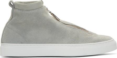 Diemme Grey Suede Fontesi Sneakers