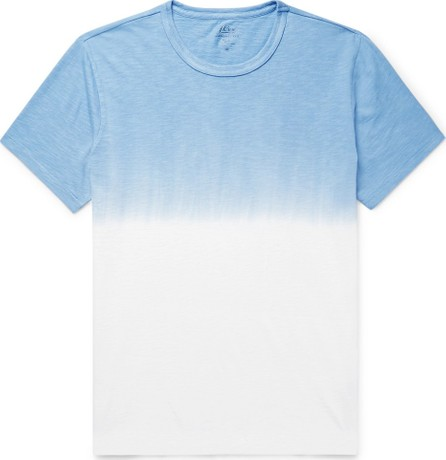 J.Crew Dip-Dyed Slub Cotton-Jersey T-Shirt