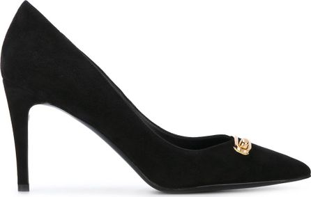 Stella Luna front clasp pointed pumps