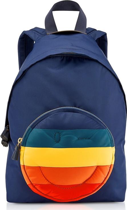 Anya Hindmarch Night Sky Nylon Backpack Chubby Wink