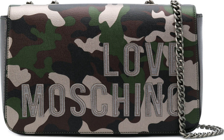 Love Moschino Camouflage print crossbody
