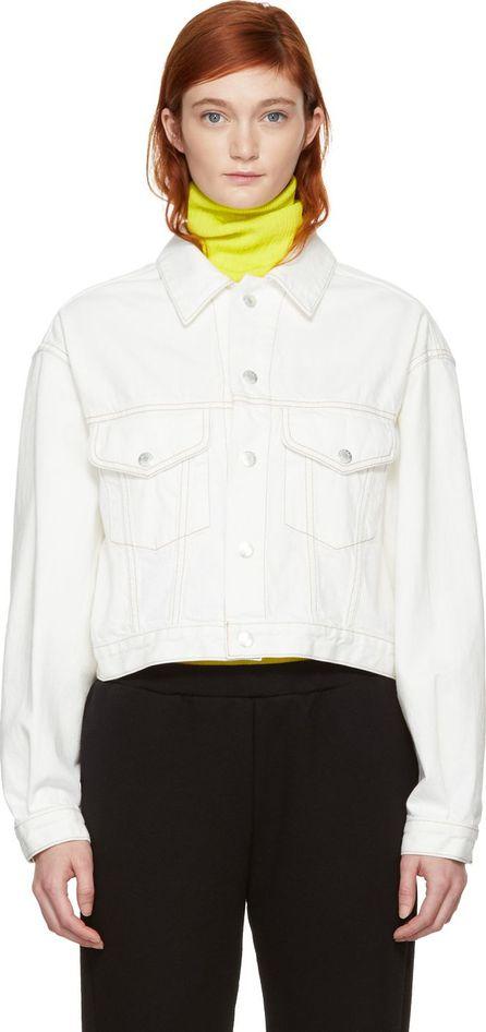 Simon Miller White Enid Denim Jacket