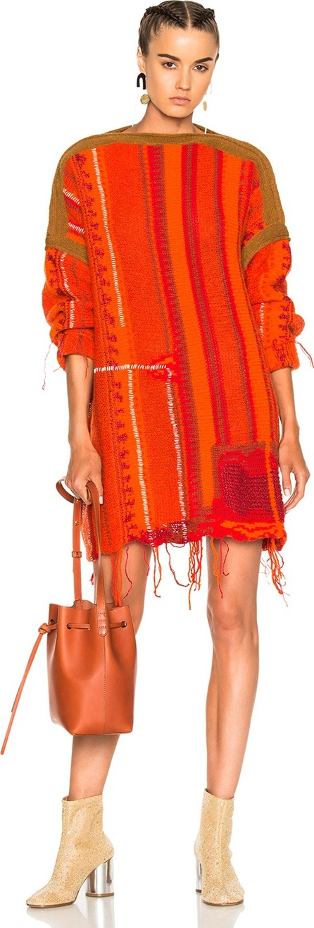 Acne Studios Anastasia Mix Sweater Dress