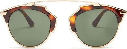Dior So Real aviator sunglasses