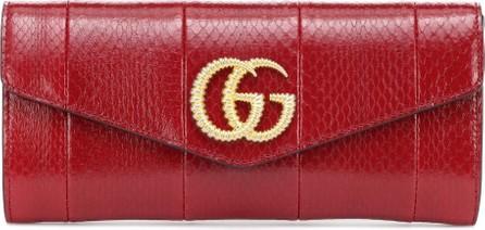 Gucci Broadway snakeskin clutch